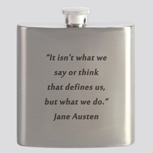 Austen - Say or Think Flask