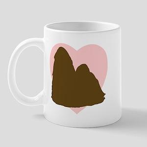 Shih Tzu Heart Mug