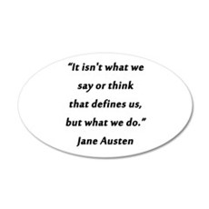 Austen - Say or Think Wall Decal