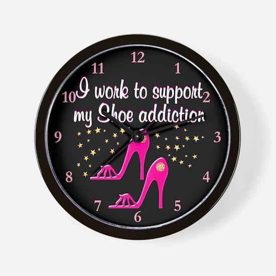 SHOE GIRL Wall Clock