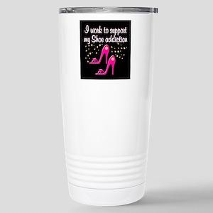 SHOE GIRL Stainless Steel Travel Mug