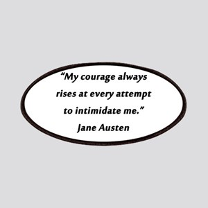 Austen - Courage Always Rises Patch