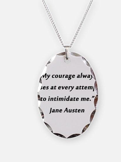 Austen - Courage Always Rises Necklace