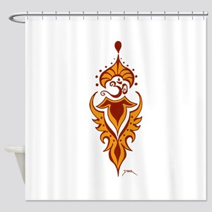 Transformation's Flame Shower Curtain
