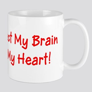 MS Affects My Brain Never My Heart Mug