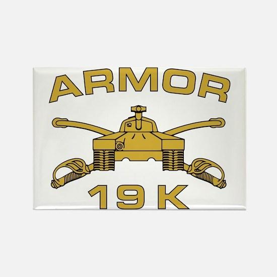 Armor - 19K Rectangle Magnet
