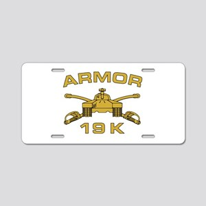 Armor - 19K Aluminum License Plate