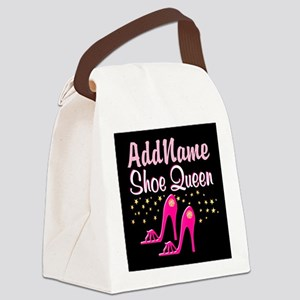 PINK SHOES Canvas Lunch Bag