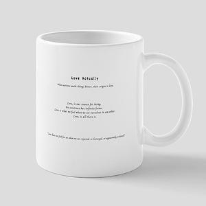 Love Actually Mug