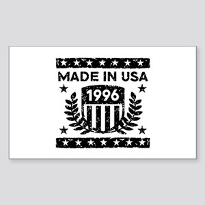 Made In USA 1996 Sticker (Rectangle)
