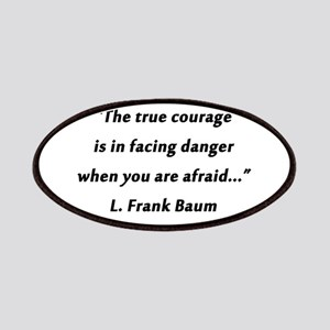 Baum - True Courage Patch