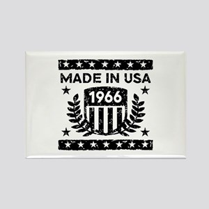 Made In USA 1966 Rectangle Magnet