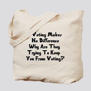 GOP War On Voting Tote Bag