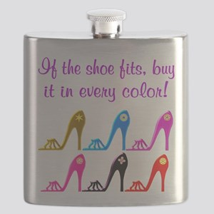 DAZZLING SHOES Flask