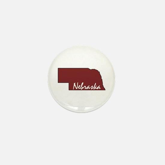 Husker Mini Button