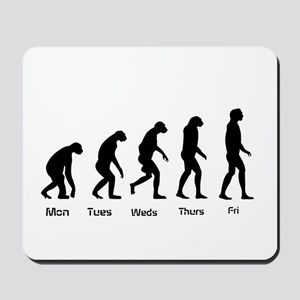 Evolution of the Weekday Mousepad