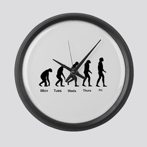 Evolution of the Weekday Large Wall Clock