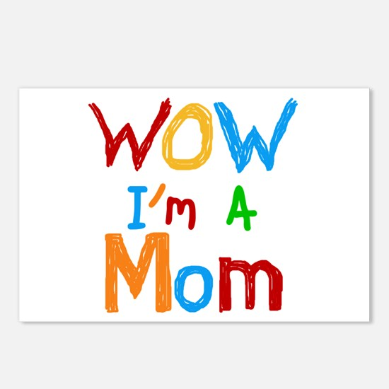 WOW I'm a Mom Postcards (Package of 8)