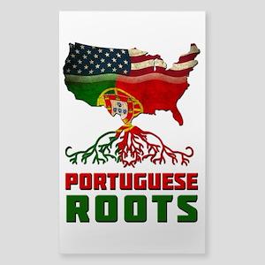American Portuguese Roots Sticker