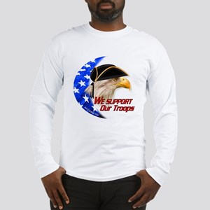 """American Citizen Eagle"" Long Sleeve T-Shirt"
