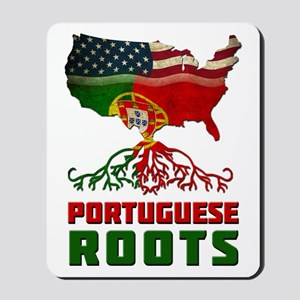 American Portuguese Roots Mousepad
