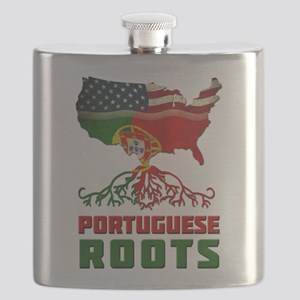 American Portuguese Roots Flask