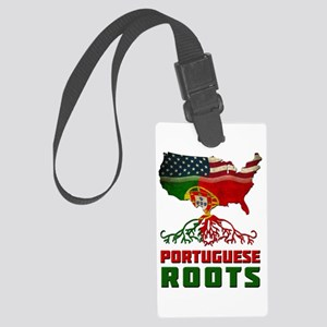 American Portuguese Roots Luggage Tag