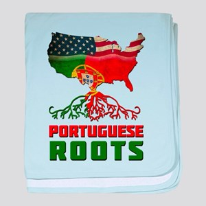American Portuguese Roots baby blanket