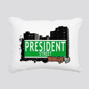 PRESIDENT STREET, BROOKLYN, NYC Rectangular Canvas