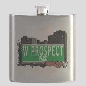 W PROSPECT PARK, BROOKLYN, NYC Flask