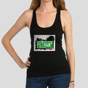 PUTNAM AV, BROOKLYN, NYC Racerback Tank Top
