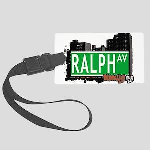 RALPH AV, BROOKLYN, NYC Large Luggage Tag