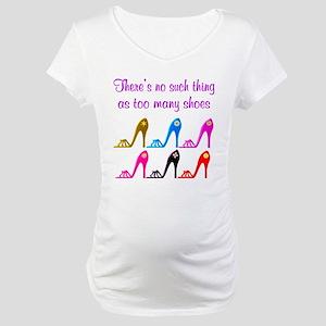 SHOE ADDICT Maternity T-Shirt