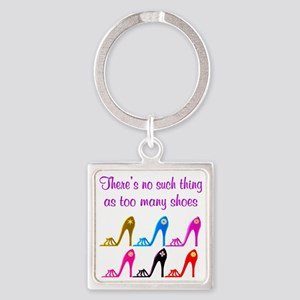 SHOE ADDICT Square Keychain