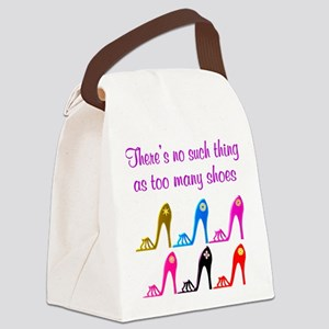 SHOE ADDICT Canvas Lunch Bag