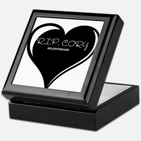 Rest In Peace Cory Monteith Keepsake Box