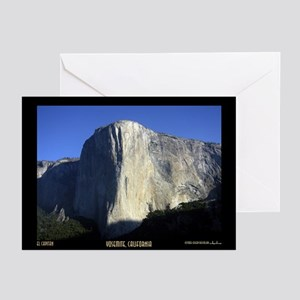 El Capitan, Yosemite Greeting Cards (6)