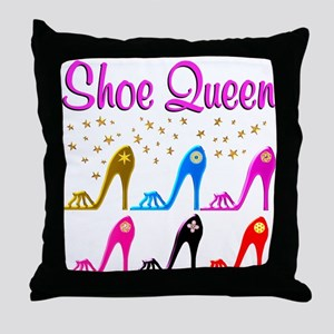 SHOE PRINCESS Throw Pillow