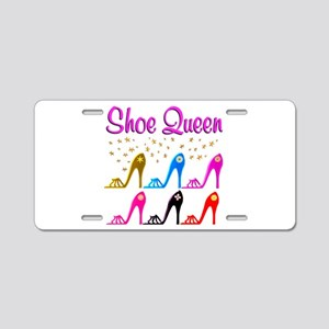 SHOE PRINCESS Aluminum License Plate