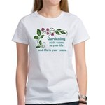 Gardening adds Years Women's T-Shirt