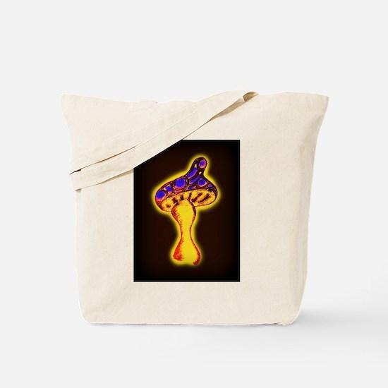 Psychedelic Shroom (dark) Tote Bag