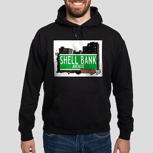 SHELL BANK AVENUE, BROOKLYN, NYC Hoodie (dark)