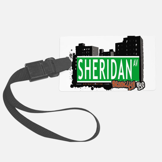 SHERIDAN AV, BROOKLYN, NYC Luggage Tag