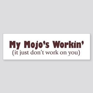 Mojo Bumper Sticker