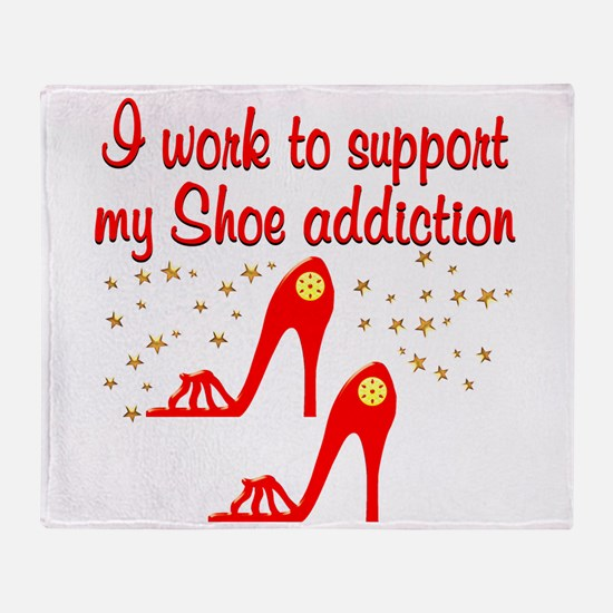 SIZZLING SHOES Throw Blanket