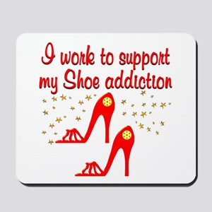 SIZZLING SHOES Mousepad