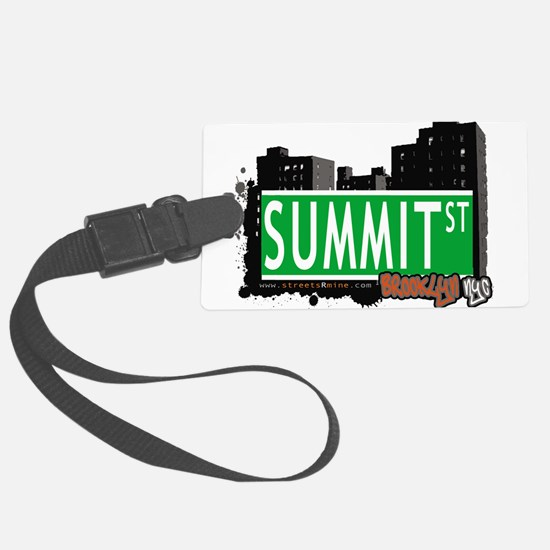 SUMMIT ST, BROOKLYN, NYC Luggage Tag