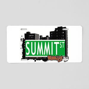 SUMMIT ST, BROOKLYN, NYC Aluminum License Plate