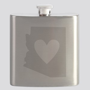 Heart Arizona Flask