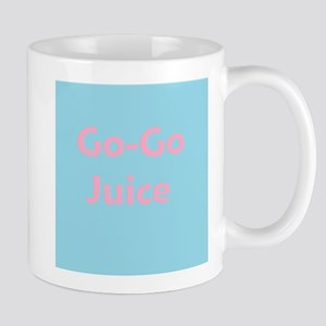 Go Go Juice in Pink and Blue Mug